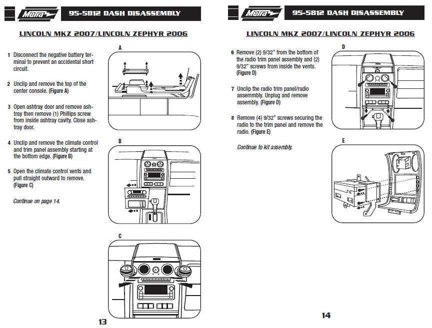 .2007-LINCOLN-MKXinstallation instructions.
