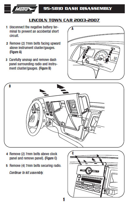 .2007-LINCOLN-TOWN CARinstallation instructions.