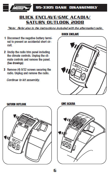 .2008-BUICK-ENCLAVEinstallation instructions.