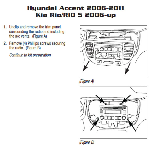 2008 hyundai accentinstallation instructions. Black Bedroom Furniture Sets. Home Design Ideas