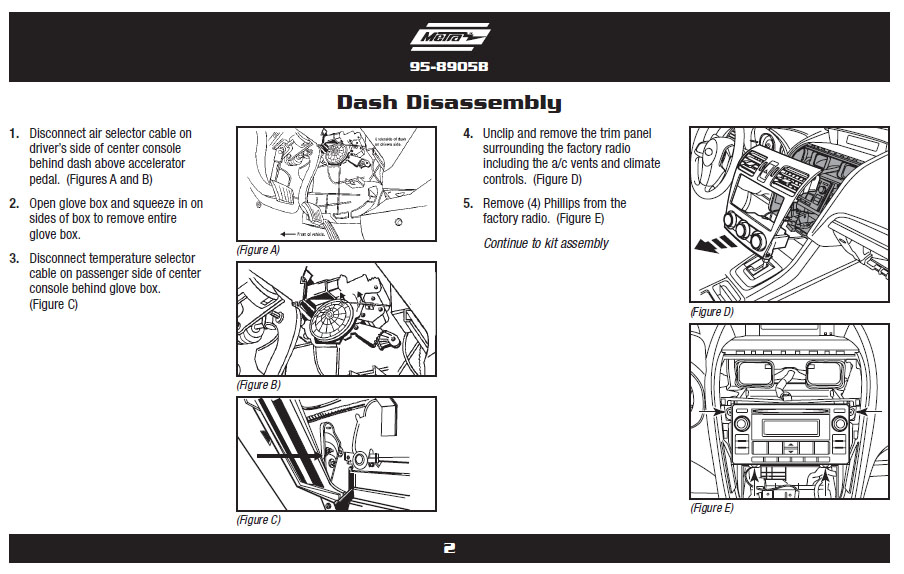 2012 Subaru Imprezainstallation Instructions