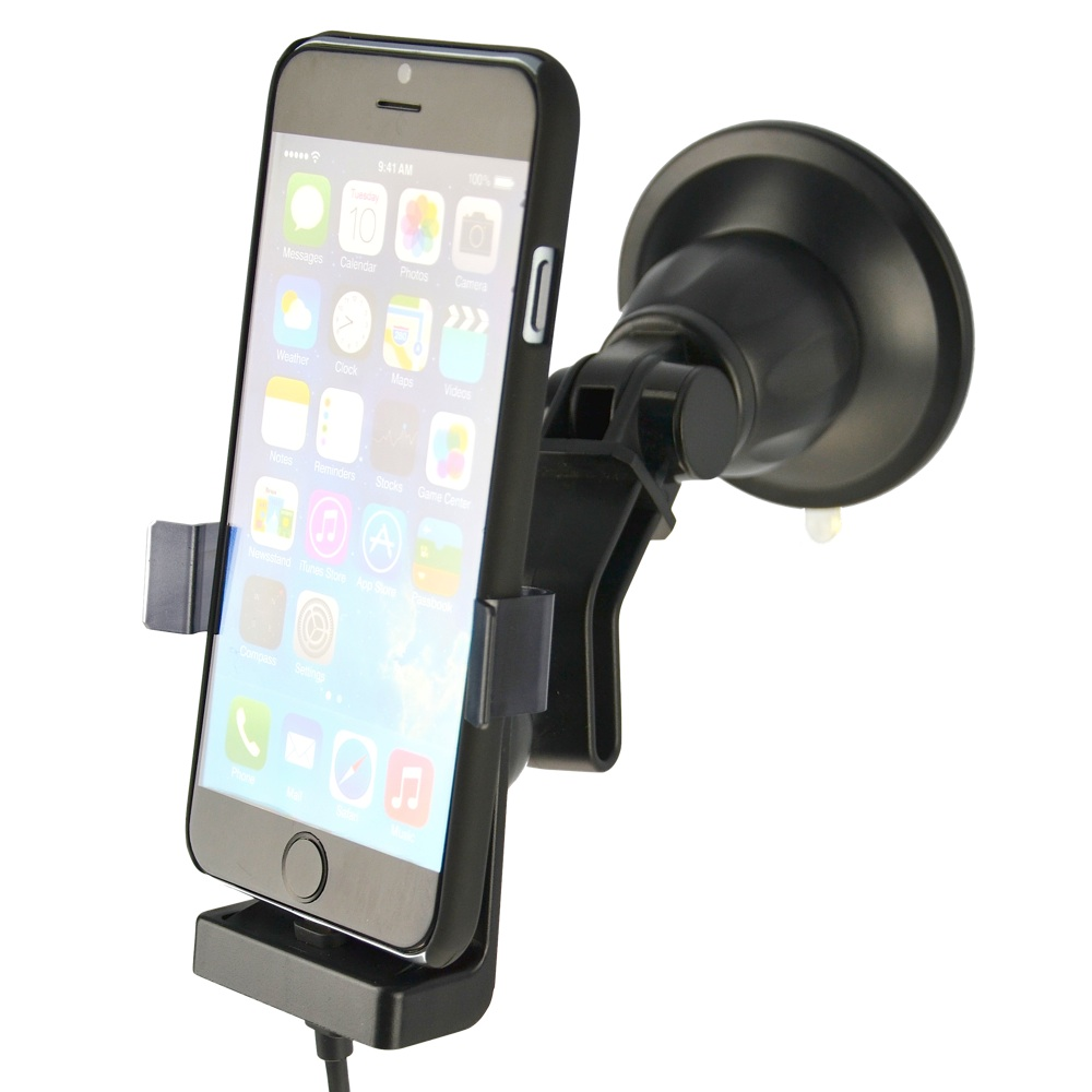 .Fix2Car Active Windsheild Holder w/suction cup For <br>Apple iPhone 6 and 6s.