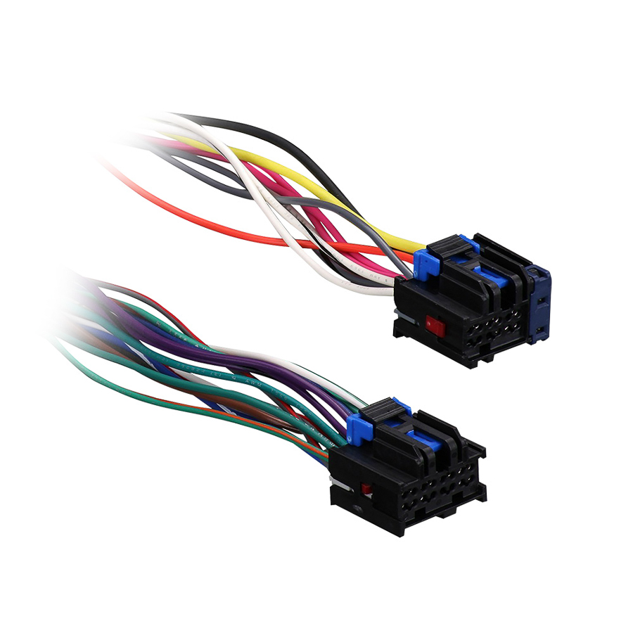 71 2105 gm car radio harness plugs into the factory radio 71 2105 metra Car Stereo Wiring Colors at nearapp.co