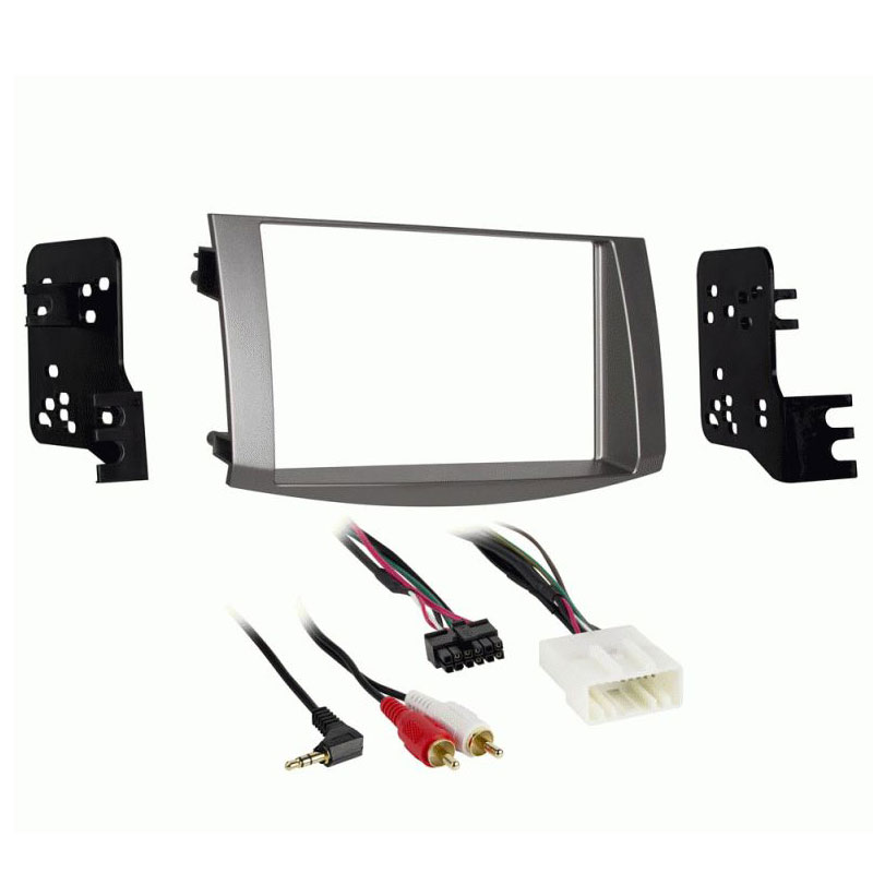 double stereo dash kit for toyota avalon 2005 2010 metra