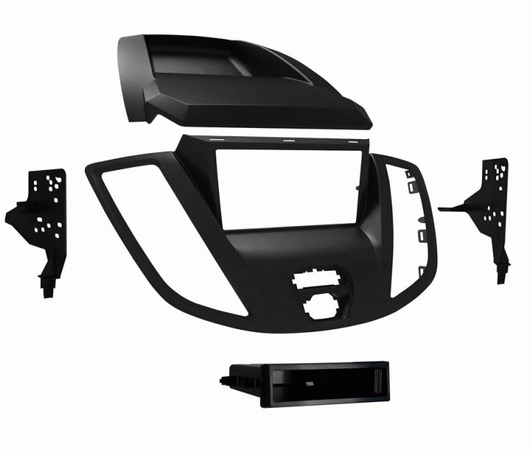 Single Double DIN Dash Kit For Select 2015 Up Ford Transit