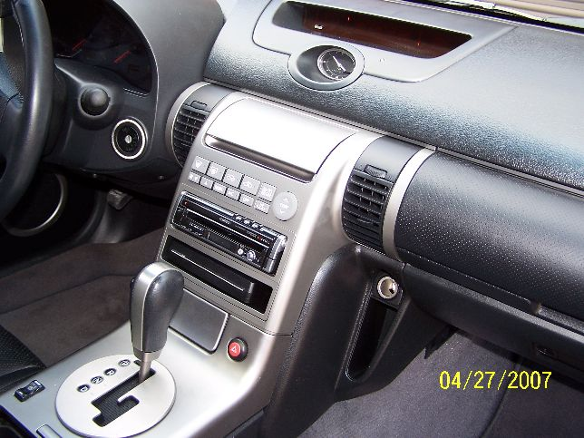Dash Kit For Mounting An Aftermarket Radio Silver