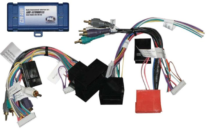 allows installation of an aftermarket radio using the existing factory  wiring and connectors