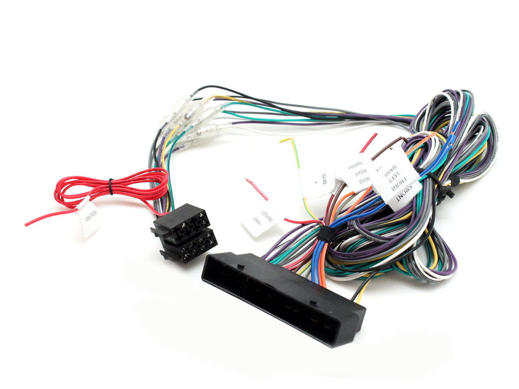 PORSCHE CAYENNE 911 2004 UP RADIO WIRING HARNESS CT20PO01