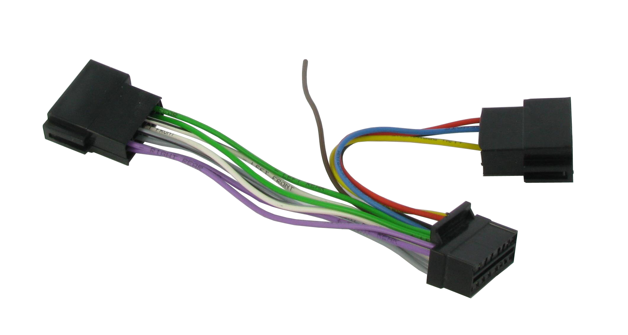 Pioneer 16 Pin Iso Connects2 Ct21pn03 Teseh Wiring Diagram