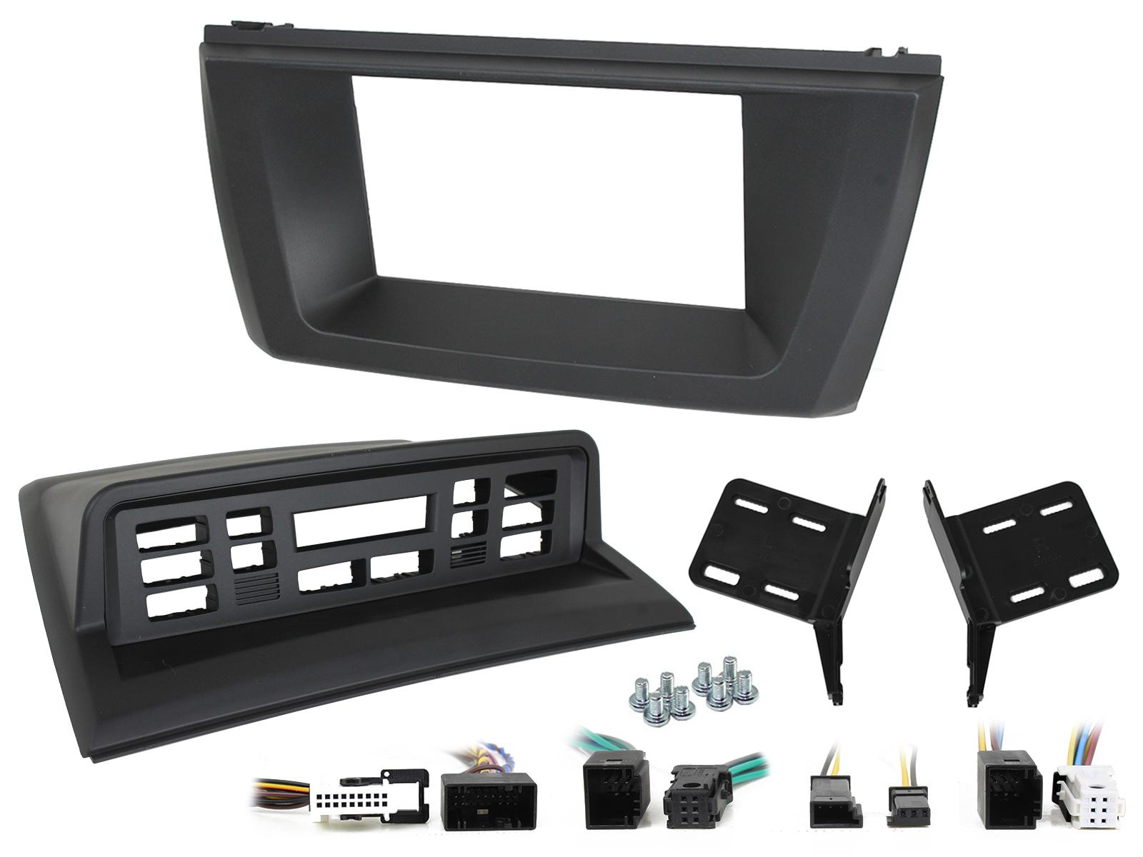 BMW X3 E83 2003-10 Double Din Car Stereo Steering Control Fascia Fitting Kit