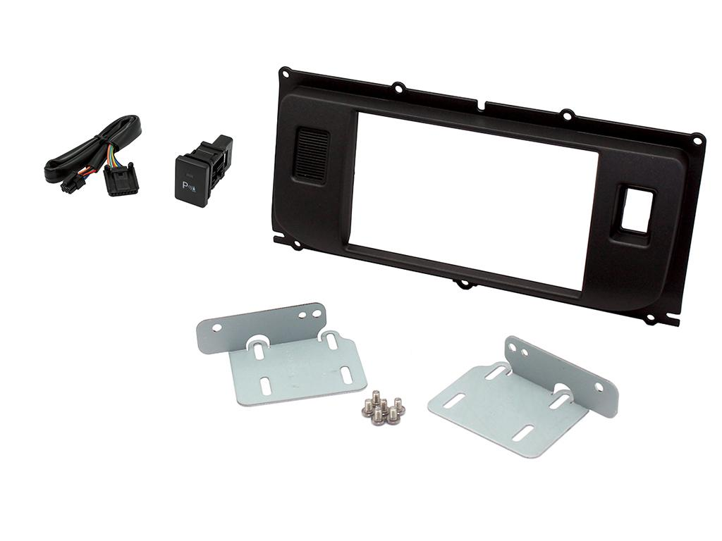 . Double Din Radio Dash Kit for Land Rover Evoque.