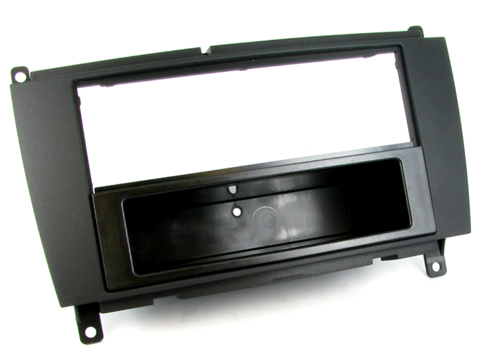 .Dash kit for mounting an aftermarket radio.