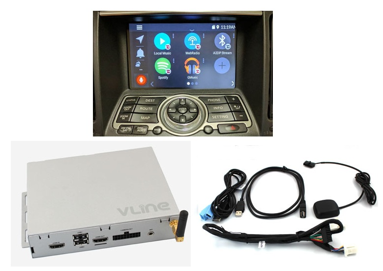 Nissan Infiniti Android Infotainment System Upgrade Video Interface