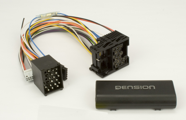 .Dension Gateway 100 Adds iPod With Text & 3.5mm Audio Input to Select BMW Vehicles (iPod Cable Not Included).