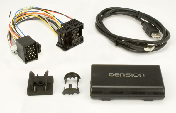 .Dension Gateway 300 Adds USB With Text, iPod With Text & 3.5mm Audio Input to Select BMW Vehicles (iPod Cable Not Included).