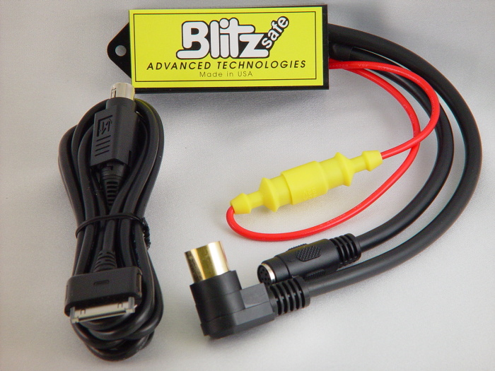 .BLITZSAFE  IPOD Interface for select Honda\'s Acura ALL 1991-1999 Except SLX, 98&99 RL, Honda ALL 1992-1998 Except 98 Accord, 98 Passport.