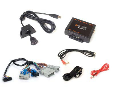 .USB AND BLUETOOTH INTERFACE FOR SELECT GM VEHICLES..