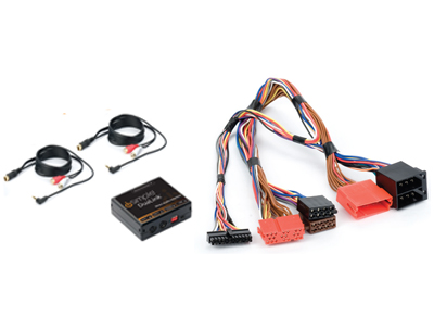 .Dual Auxiliary Audio Input Interface for Select Volkswagen Vehicles.