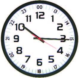 Mfj 131rc Analog Atomic 12 12 24hr Clock Mfj Mfj 131rc
