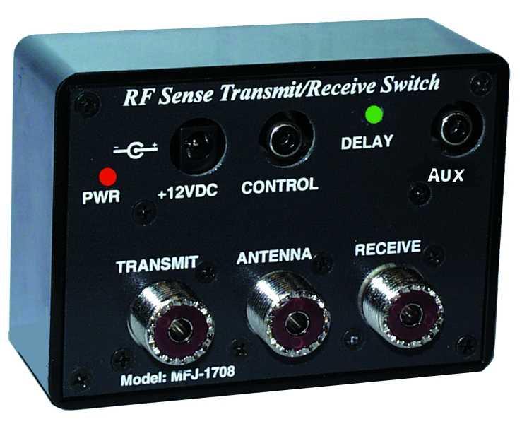 Mfj 1708 Rf Sensing Tr Switch Mfj Mfj 1708