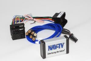 .Audio and Video input and output with backup camera input with Video in Motion..