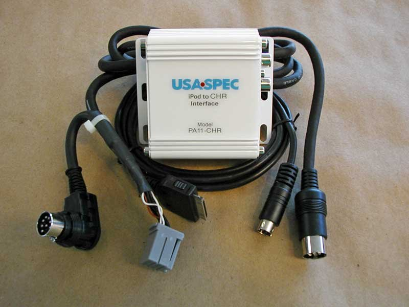 iPODiPhone input for select Chrysler Dodge and Jeep USASPEC