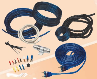 .HOOKER 8 AWG AMPLIFIER INSTALLATION KIT.