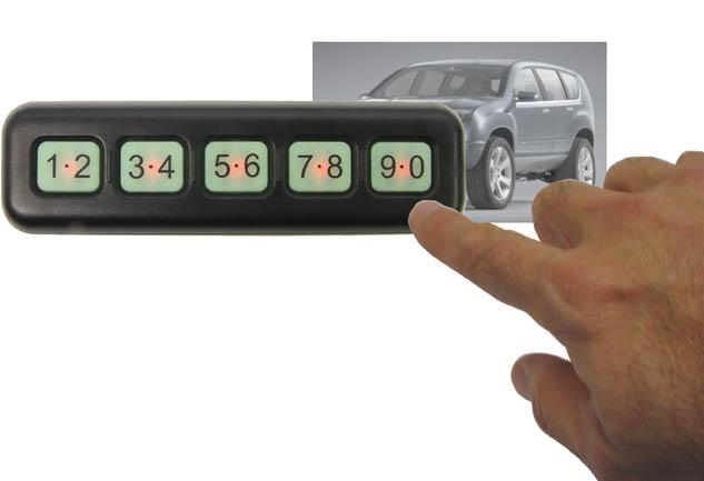 Wireless Waterproof Key Less Entry Keypad Br Integration