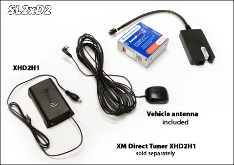 .SoundLinQ2 (Model SL2xD2) - XM Satellite Radio Interface.