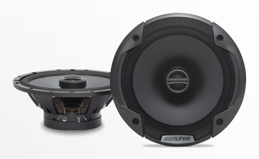 .6-1/2in Coaxial 2-Way Speaker Set .