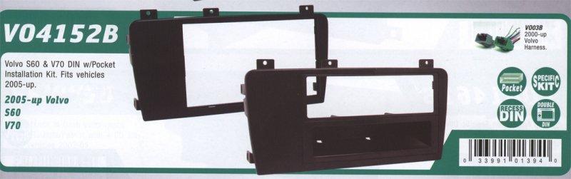 Dash kit for mounting an aftermarket radio SCOSCHE VO4152B