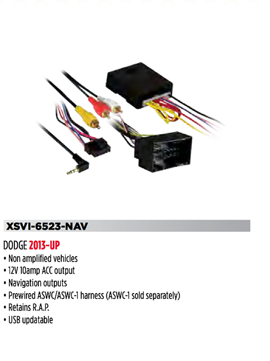 Dodge Ram 13 Up Wire Harness Dart Without Screen Option Wiring Navigation Lights Diagram 1500 2500 3500