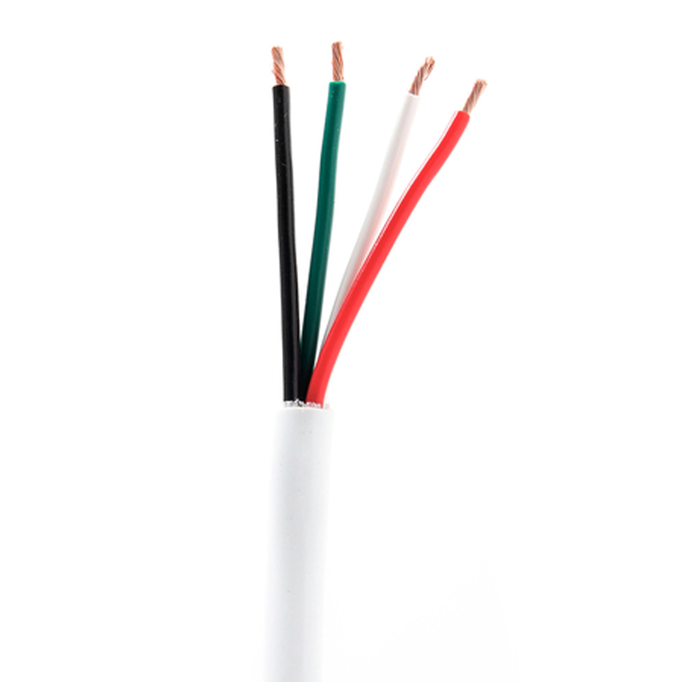 Click for more info about 16/4 26-Strand Speaker Wire (white)
