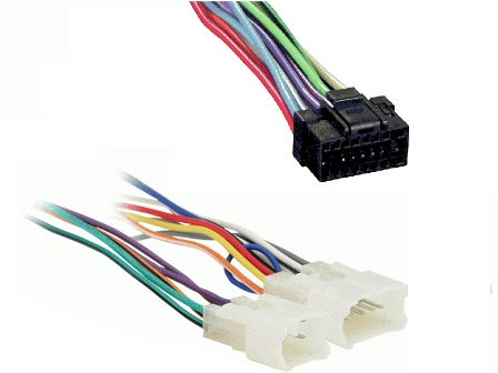 al2x8 1761_s car stereo wire harnesses radio wires for all car audio wiring Pioneer Deh P77DH Wiring Harness at couponss.co