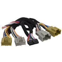Ax-dsp-nis1 Axxess Metra Consumer Electronics Nissan Plug-n-play T-harness For Ax-dsp