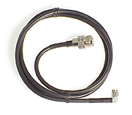 4 foot extension cable for HTs with SMA; UHF female to SMA male