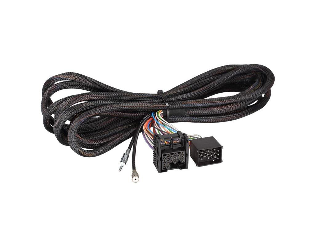 Car Stereo Wire Harnesses Radio Wires For All Audio Wiring 3 Mini Jack Click More Info About Iso Extension And Antenna Harness Adaptor