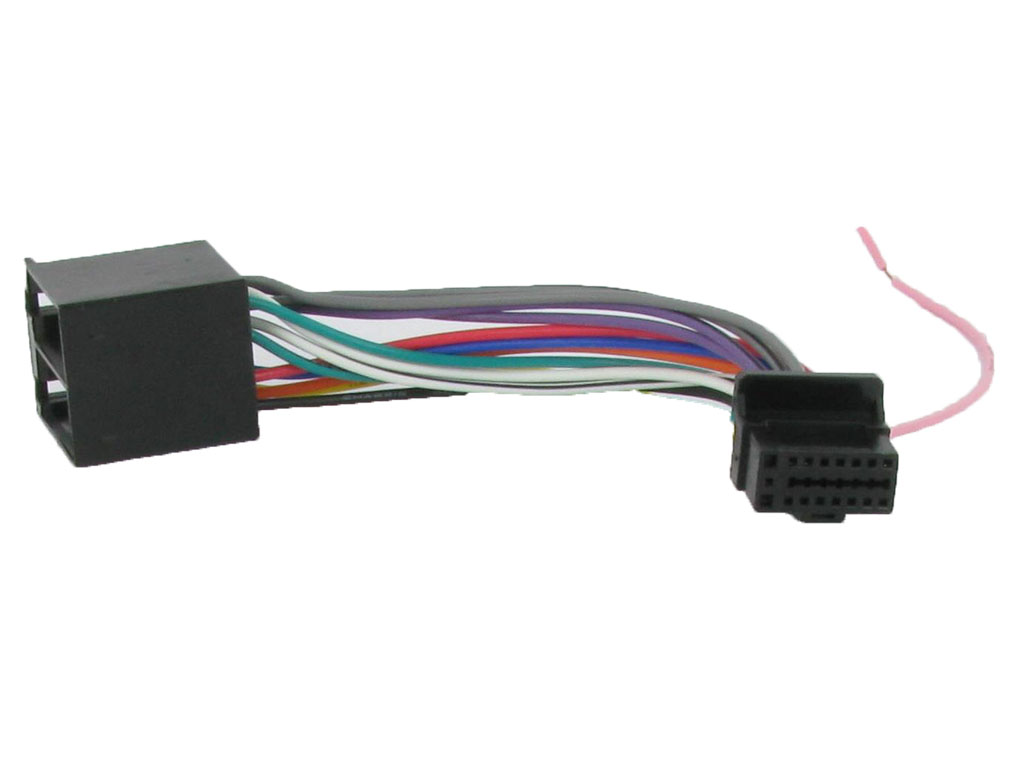 Main on male trailer wiring harness