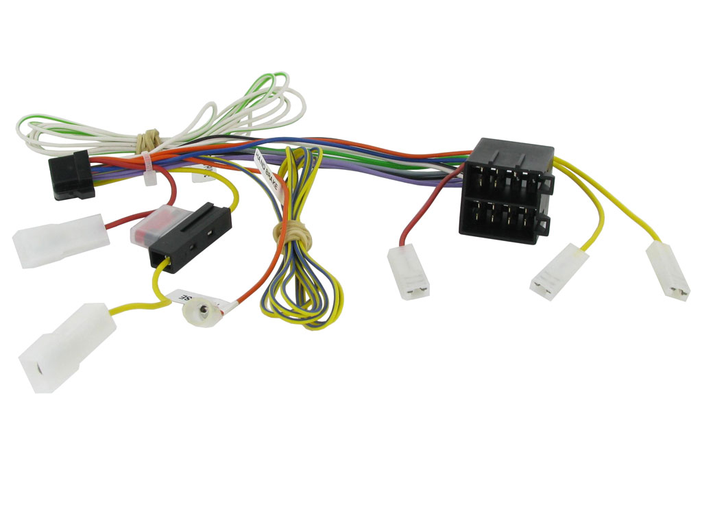 Car Stereo Wire Harnesses Radio Wires For All Audio Wiring As Well Mini Cooper Diagram Further 2002 S Click More Info About Alpine Ine Head Unit Power Speaker Harness