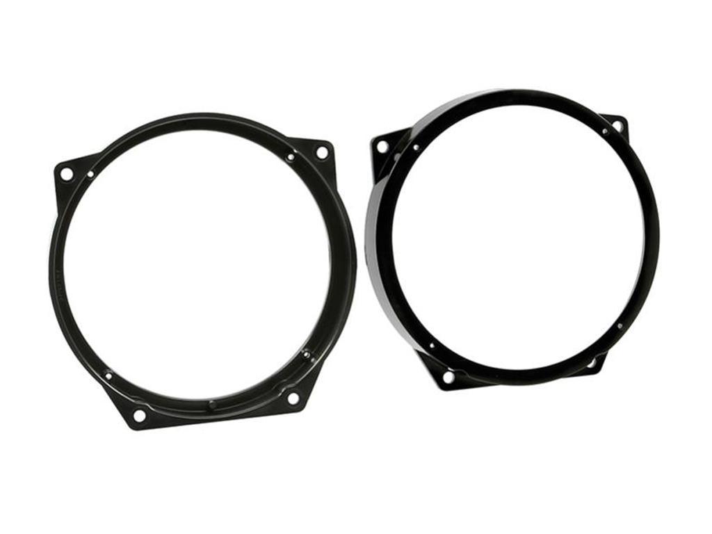 CT25BM04 130mm Front Door Speaker Adaptor Kit Rings For BMW Mini 2001-2006
