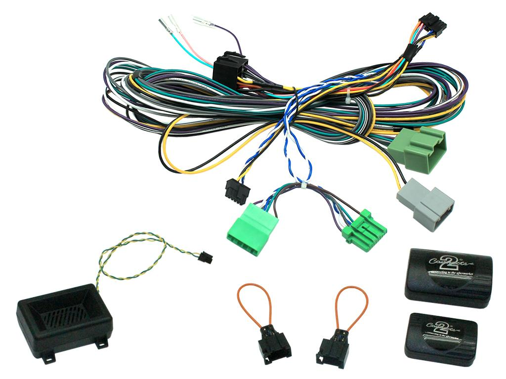 2009 Volvo Xc90 Installation Parts  harness  wires  kits