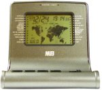 MFJ 112B DELUXE WORLD MAP CLOCK