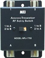 MFJ 1703 SWITCH, ANT/XMTR CROSS OVER