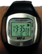 MFJ 186RC ATOMIC, LCD WATCH