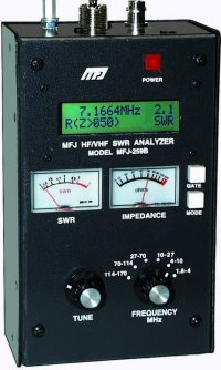 MFJ 259B SWR ANALYZER, HF/VHF