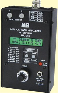 MFJ 266 HF / VHF / UHF  Antenna Analyzer