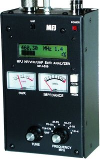 MFJ 269 HF / VHF / UHF SWR ANALYZER, COUNTER