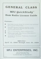 MFJ 3211 QUICK STUDY GUIDE, TECHNICIAN