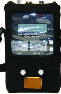 MFJ 39C POUCH WITH WINDOWS FOR ANALYZER, 269