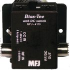 MFJ 4118 BIAS TEE,+12 OFF -12VDC, 3 POSITIONS